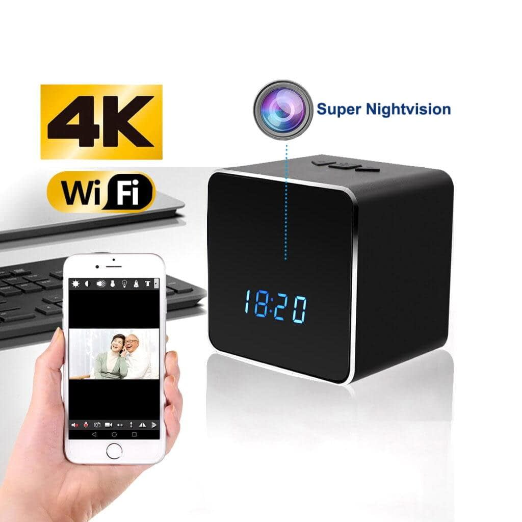 Spy Camera Bluetooth Speaker 4K Wifi IP Camera | Sale Market BD