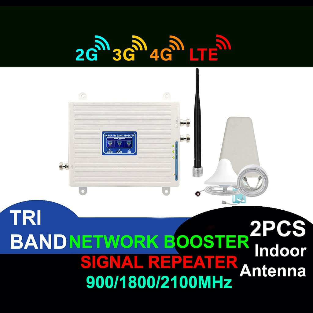 Network Booster Led Display GSM 900 Mhz 2G 3G 4G Mobile Phone Signal Repeater | Sale Market BD