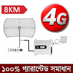 GSM 2G 3G 4G 5G Cellphone Network Repeater Signal Booster | Sale Market BD