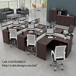 Office workstation desk (w.d-0037)