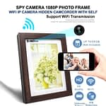 Spy Camera HD Photo Frame Wifi IP Camera Live Hidden Camcorder with Self