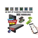Spy Camera 4K Live Wifi IP Camera Video with Voice Recorder H11 Powerbank