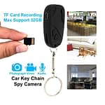 Spy Camera Car Key Ring Hidden Video and Voice Recorder