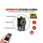 Spy Camera 4K Rebon Wifi IP Cam P2P Module Hidden Wireless Antenna