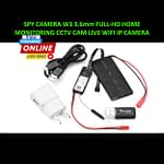 Spy Camera W3 3.6mm Full HD Wifi IP Camera Rebon RC Models Home Live Monitoring Hidden Cam