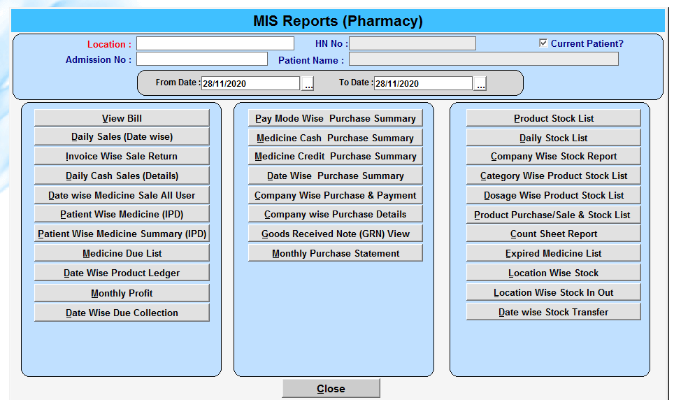 Cheap and best pharmacy management software | Sale Market BD