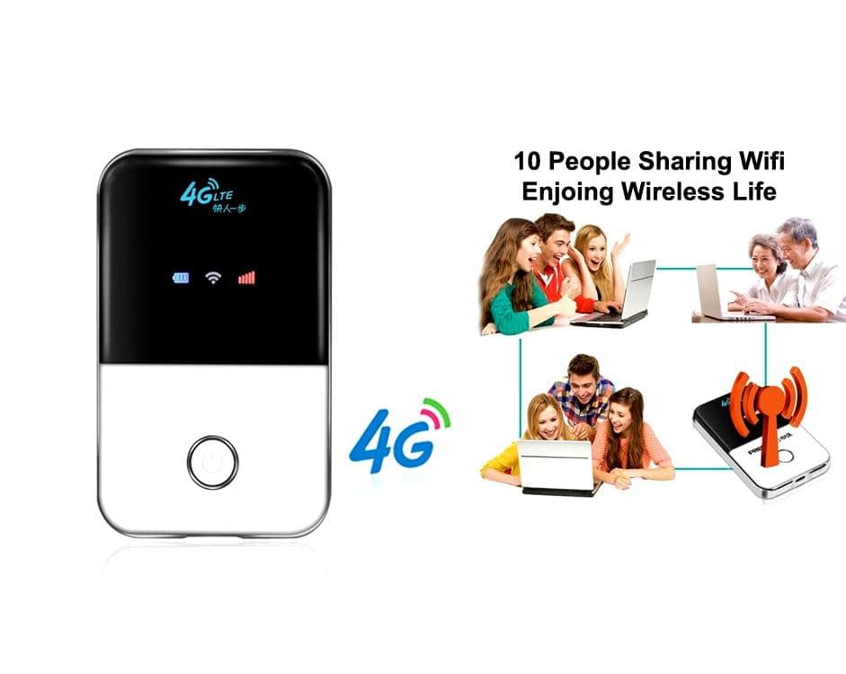 Portable Router 4G LTE Wifi Wireless Pocket Router | Sale Market BD