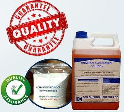 SSD CHEMICAL ACTIVATION POWDER and MACHINE available FOR BULK cleaning!   Sale Market BD