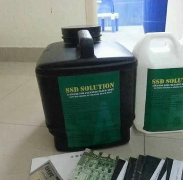 Defaced currencies cleaning CHEMICAL, ACTIVATION POWDER and MACHINE | Sale Market BD