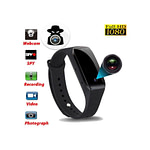 Spy Camera Wristband Video, Voice and Picture Recorder Full-HD