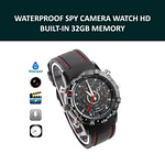 Spy Camera Watch Waterproof Voice with Video Recorder