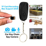 Spy Camera Car Key Ring Video with Voice Recorder Hidden Cam